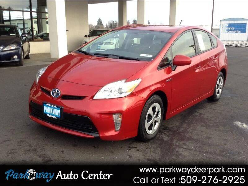 2015 Toyota Prius for sale at PARKWAY AUTO CENTER AND RV in Deer Park WA