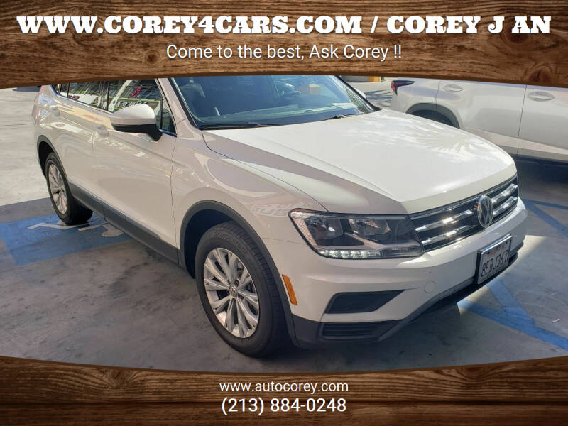 2018 Volkswagen Tiguan for sale at WWW.COREY4CARS.COM / COREY J AN in Los Angeles CA