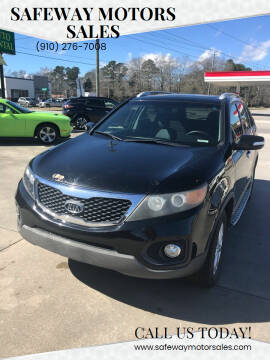 2012 Kia Sorento for sale at Safeway Motors Sales in Laurinburg NC