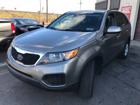 2011 Kia Sorento for sale at Luxury Unlimited Auto Sales Inc. in Trevose PA