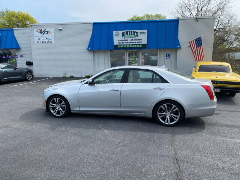 2014 Cadillac CTS for sale at Ginters Auto Sales in Camp Hill PA