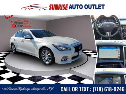 2017 Infiniti Q50 for sale at Sunrise Auto Outlet in Amityville NY