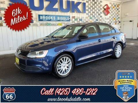 2014 Volkswagen Jetta for sale at BROOKS BIDDLE AUTOMOTIVE in Bothell WA