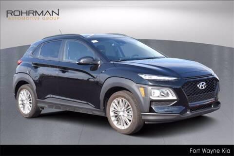 2019 Hyundai Kona for sale at BOB ROHRMAN FORT WAYNE TOYOTA in Fort Wayne IN