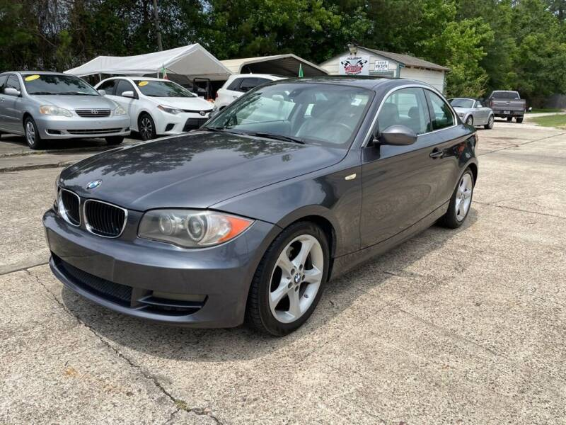 2008 BMW 1 Series for sale at AUTO WOODLANDS in Magnolia TX