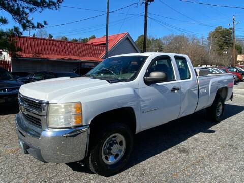 2008 Chevrolet Silverado 2500HD for sale at Car Online in Roswell GA