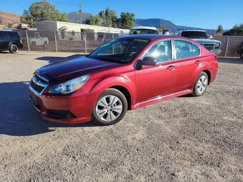 2013 Subaru Legacy for sale at Canyon View Auto Sales in Cedar City UT