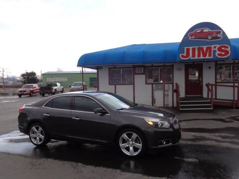 2013 Chevrolet Malibu for sale at Jim's Cars by Priced-Rite Auto Sales in Missoula MT