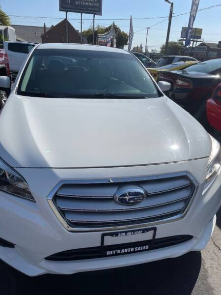 2015 Subaru Legacy for sale at Rey's Auto Sales in Stockton CA