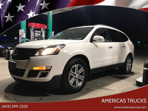 2015 Chevrolet Traverse for sale at Americas Trucks in Jones OK