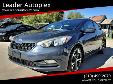 2014 Kia Forte for sale at Leader Autoplex in San Antonio TX
