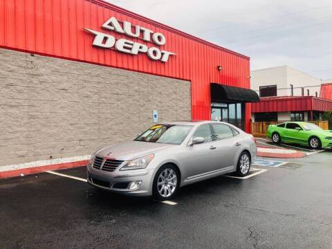 2013 Hyundai Equus for sale at Auto Depot of Smyrna in Smyrna TN