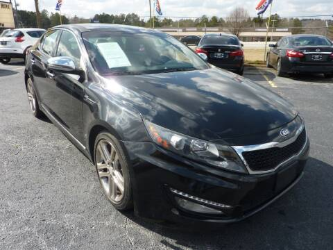 2013 Kia Optima for sale at Roswell Auto Imports in Austell GA