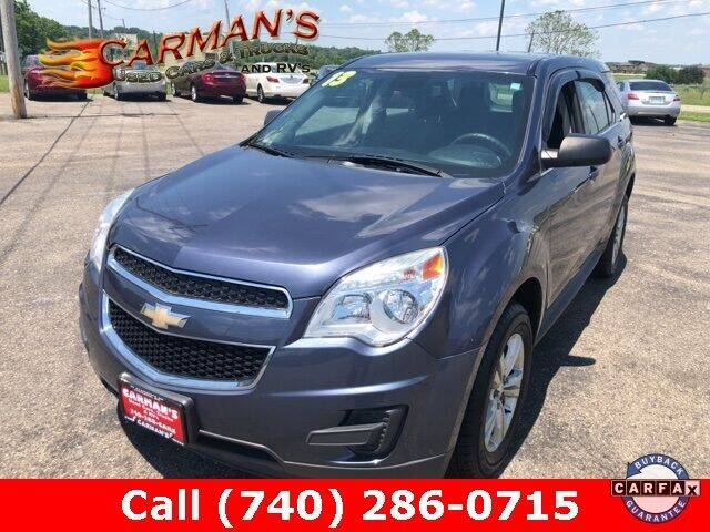 2013 Chevrolet Equinox for sale at Carmans Used Cars & Trucks in Jackson OH