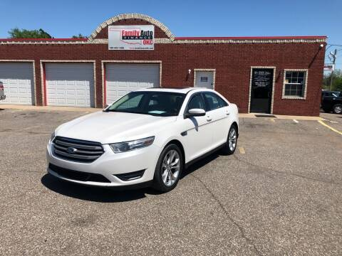 2013 Ford Taurus for sale at Family Auto Finance OKC LLC in Oklahoma City OK