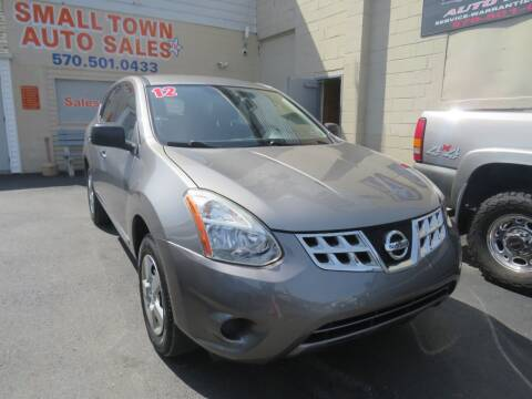 2012 Nissan Rogue for sale at Small Town Auto Sales in Hazleton PA