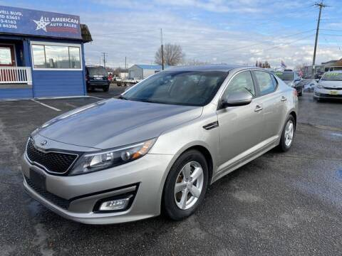 2015 Kia Optima for sale at All American Auto Sales LLC in Nampa ID