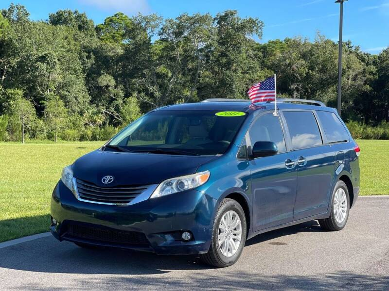 2011 Toyota Sienna for sale at GENESIS AUTO SALES in Port Charlotte FL