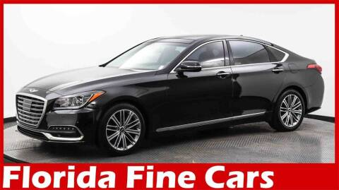 2018 Genesis G80 for sale at Florida Fine Cars - West Palm Beach in West Palm Beach FL