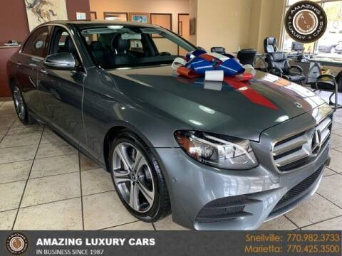 2018 Mercedes-Benz E-Class for sale at Amazing Luxury Cars in Snellville GA