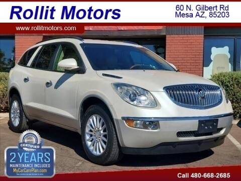 2011 Buick Enclave for sale at Rollit Motors in Mesa AZ