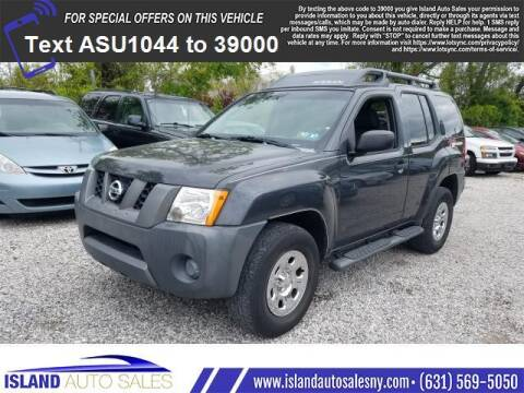 2008 Nissan Xterra for sale at Island Auto Sales in East Patchogue NY