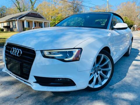 2013 Audi A5 for sale at Cobb Luxury Cars in Marietta GA