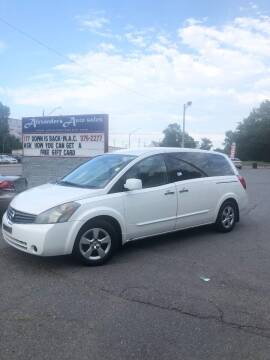 2007 Nissan Quest for sale at Alexander's Auto Sales in North Little Rock AR