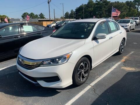 2017 Honda Accord for sale at Sun Coast City Auto Sales in Mobile AL