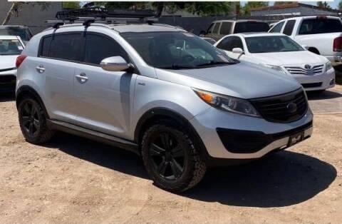 2013 Kia Sportage for sale at Brown & Brown Wholesale in Mesa AZ