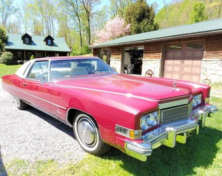 1974 Cadillac Eldorado for sale at Erics Muscle Cars in Clarksburg MD