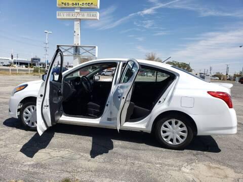 2019 Nissan Versa for sale at ELITE MOTORS in Victorville CA
