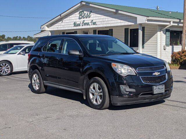 2012 Chevrolet Equinox for sale at Best Used Cars Inc in Mount Olive NC