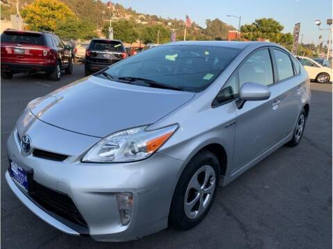 2014 Toyota Prius for sale at AutoDeals in Hayward CA