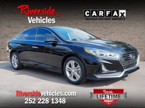 2018 Hyundai Sonata for sale at Riverside Mitsubishi(New Bern Auto Mart) in New Bern NC