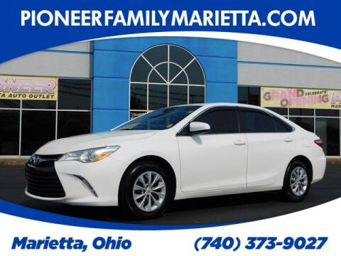 2017 Toyota Camry for sale at Pioneer Family preowned autos in Williamstown WV