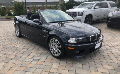 2001 BMW M3 for sale at Shedlock Motor Cars LLC in Warren NJ