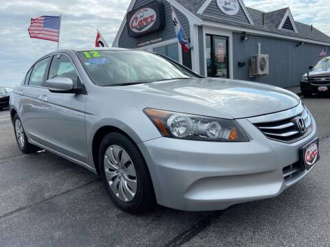 2012 Honda Accord for sale at Cape Cod Carz in Hyannis MA