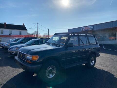 1996 Toyota Land Cruiser for sale at FIESTA MOTORS in Hagerstown MD