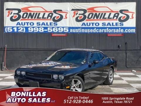 2014 Dodge Challenger for sale at Bonillas Auto Sales in Austin TX