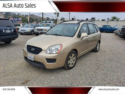 2008 Kia Rondo for sale at ALSA Auto Sales in El Cajon CA