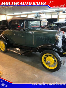 1930 Ford Roadster for sale at MOLTER AUTO SALES in Monticello IN