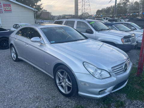 2007 Mercedes-Benz CLS for sale at Trocci's Auto Sales in West Pittsburg PA