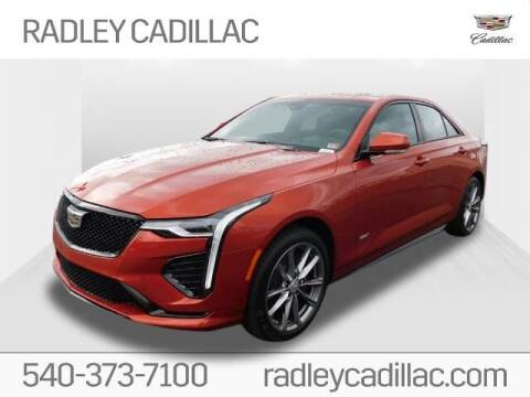 2020 Cadillac CT4 for sale at Radley Cadillac in Fredericksburg VA