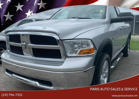 2011 RAM Ram Pickup 1500 for sale at Paris Auto Sales & Service in Big Rapids MI