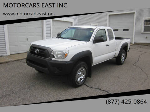 2015 Toyota Tacoma for sale at MOTORCARS EAST INC in Derry NH
