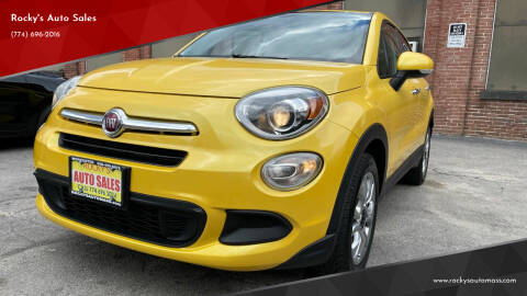 2016 FIAT 500X for sale at Rocky's Auto Sales in Worcester MA