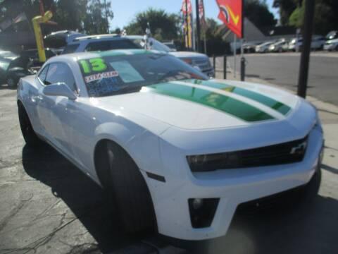2013 Chevrolet Camaro for sale at Quick Auto Sales in Modesto CA