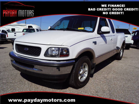 1998 Ford F-150 for sale at Payday Motors in Wichita KS