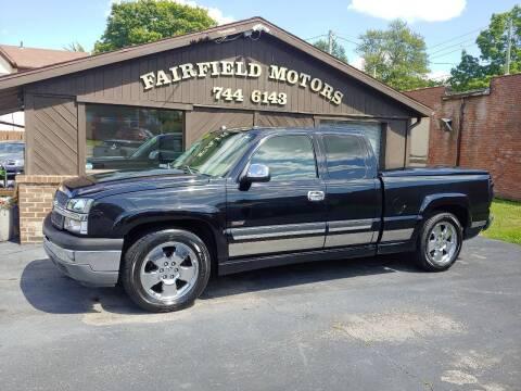 2005 Chevrolet Silverado 1500 for sale at Fairfield Motors in Fort Wayne IN